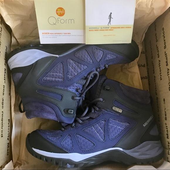 ed0a5093668 Merrell 'Siren Sport Q2' Hiking Boots- Crown Blue NWT